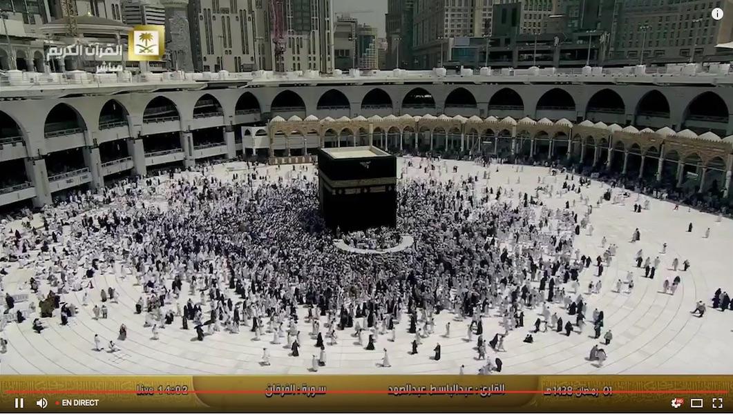 Makkah en live Mecque en direct