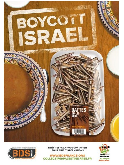 dattes israel boycott