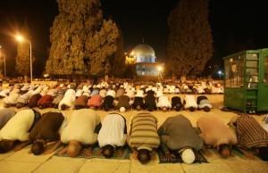 al aqsa tarawih jérusalem quds