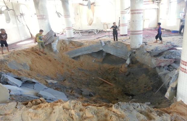 mosquée gaza