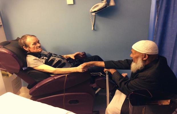 musulman converti islam hopital