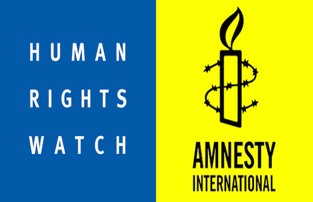 Amnesty International ET Human Rights Watch