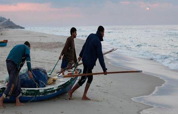 Des pêcheurs gazaouis ont eu une agréable surprise en mer