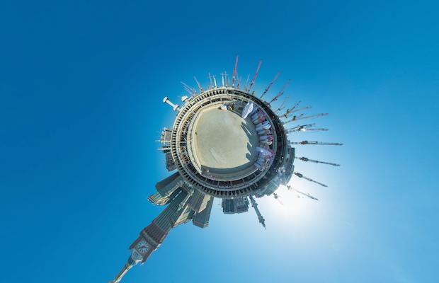 kaaba toit vue panoramique