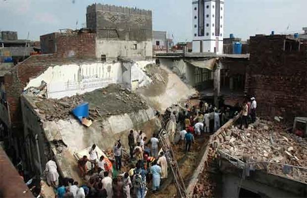 mosquée pakistan lahore
