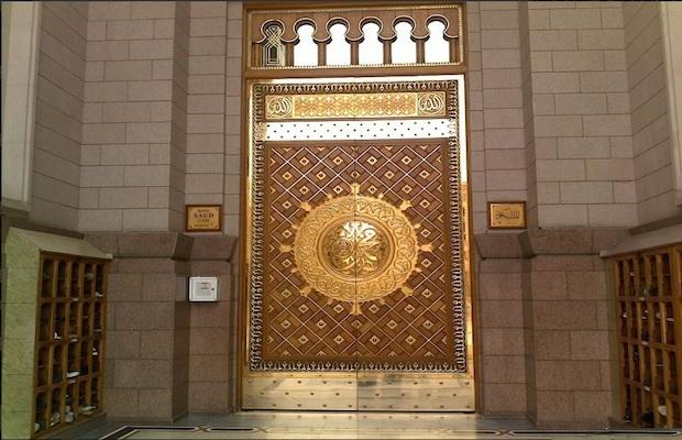 vol à la mosquée de medine