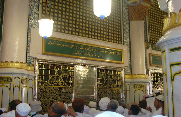 tombe du prophete a medine