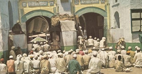 1953 fidèles mosquée la mecque
