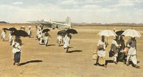 hajj en avion 1953