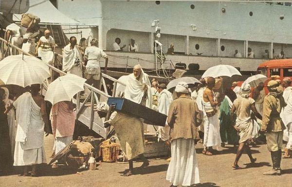 hajj en bateau 1953