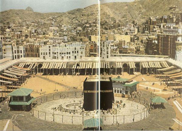 kaaba mataf la mecque en 1953