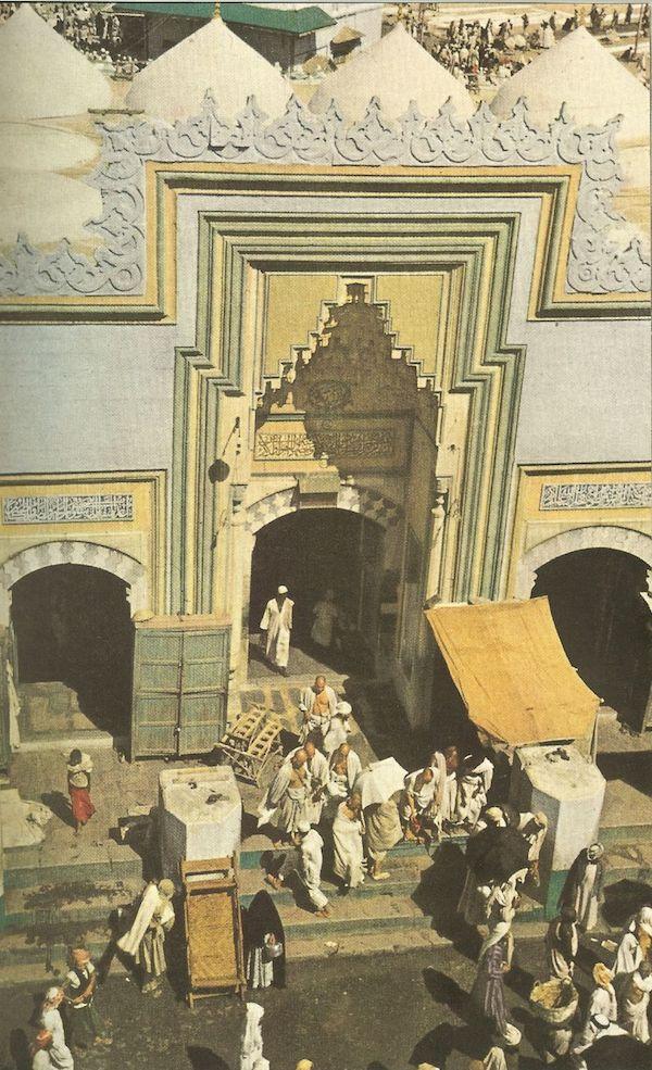porte masjid al haram la mecque