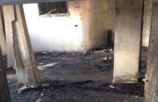 incendie mosquée cisjordanie occupée