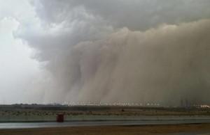 tempête à la mecque