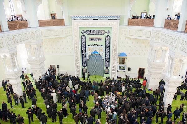 interieur mosquee kazakhstan