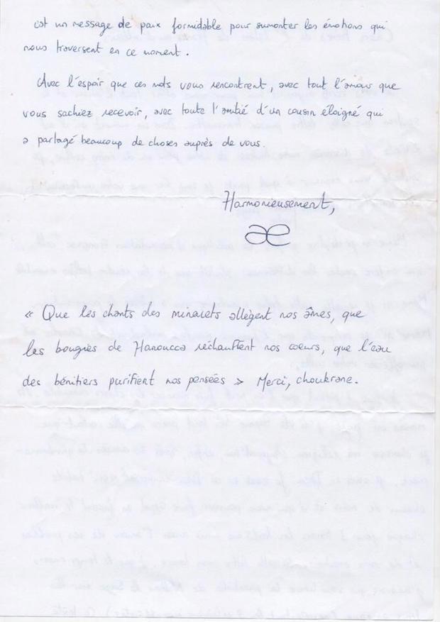 lettre mosque