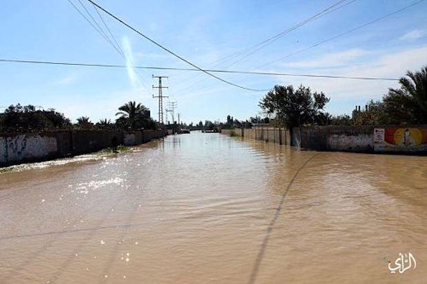 gaza inondation