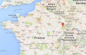 Incendie criminel au domicile d'une famille musulmane à Thiéfosse  / @googlemap