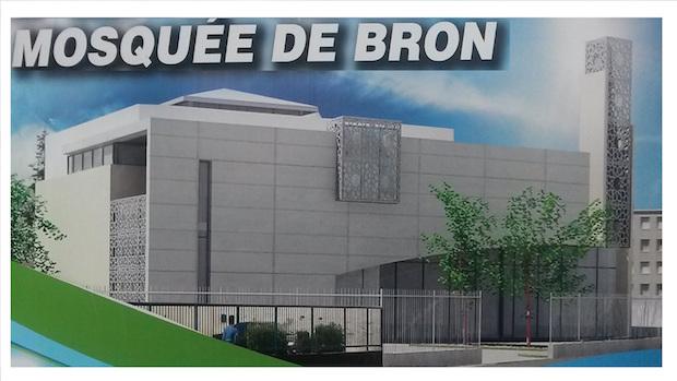 Nouvelle mosquée de bron
