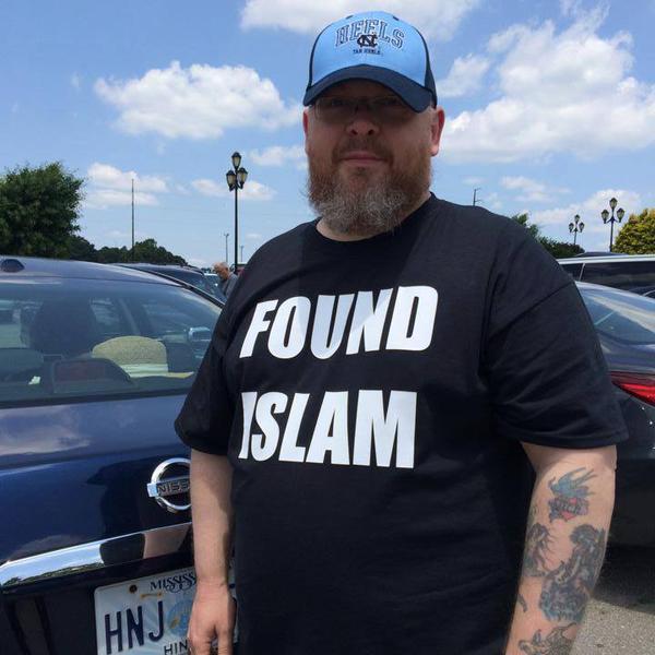 found islam tee shirt f* islam