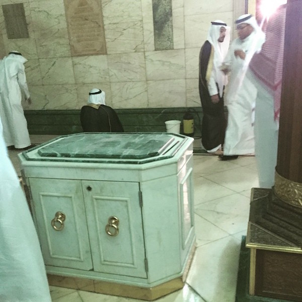 9 photos in dites de l int rieur de la kaaba for Interieur de la kaaba