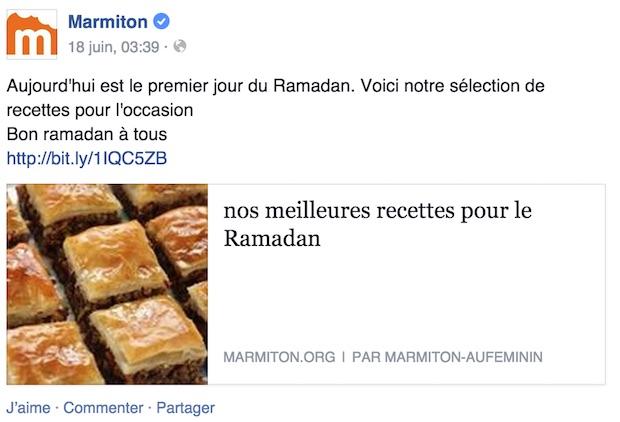 marmitton islam ramadan