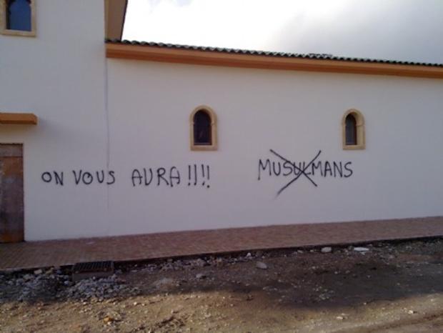 actes islamophobes France