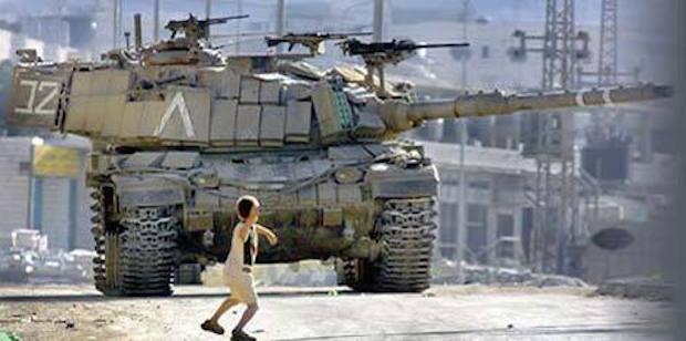 Prison jet de pierres israel
