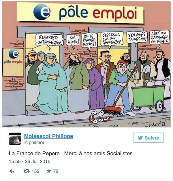 tweet islamophobe