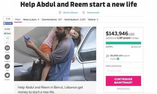 Abdul Haleem Al-Kader réfugié syrien