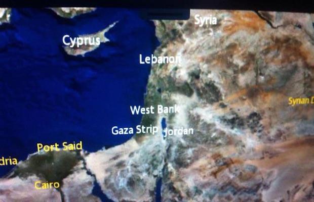 carte israel air france