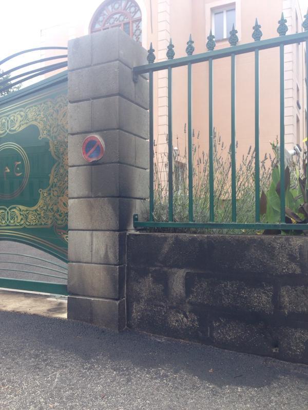 Incendie près de la clôture entourant la mosquée de Mérignac