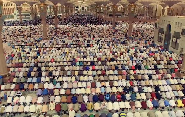 medine drone mosquée