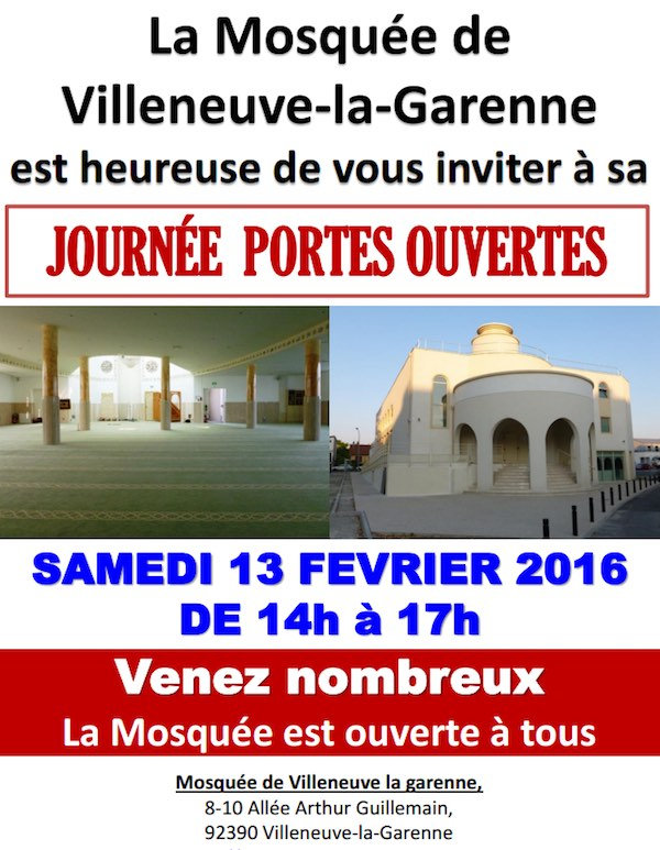 portes ouvertes dans les mosquées