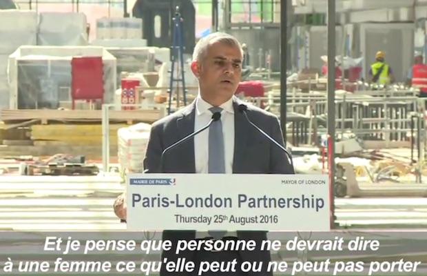 maire de Londres burkini