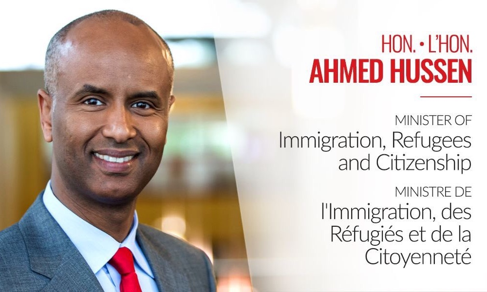 Ahmed Hussen ministre immigration