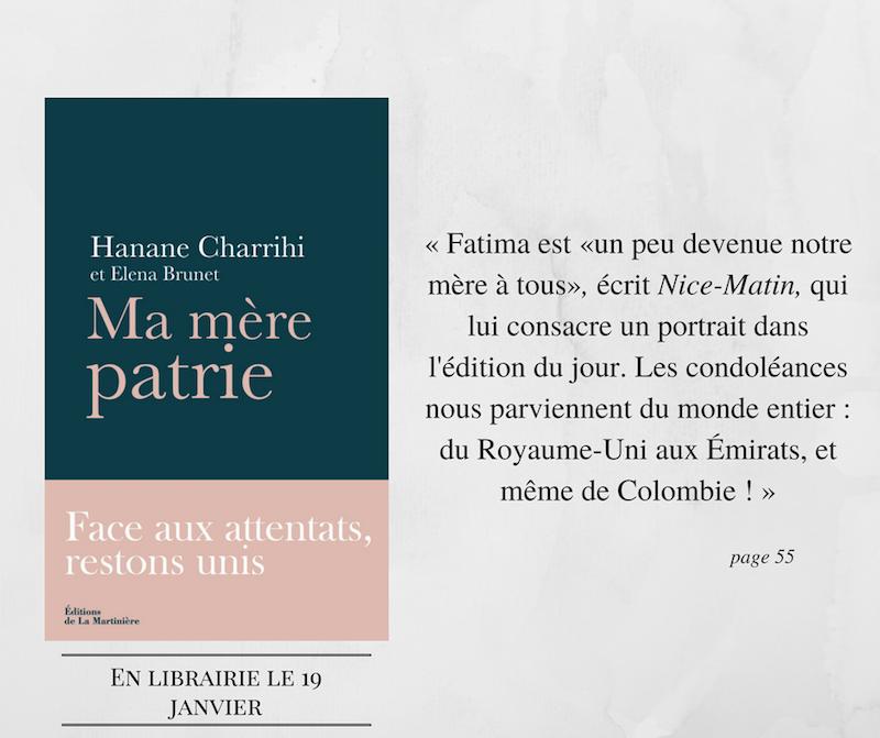Hanane Charrihi ma mère patrie