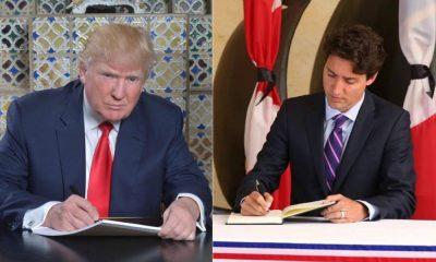 #MuslimBan Justin Trudeau trump