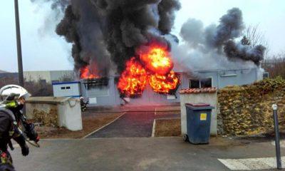 incendie mosquée de valenton