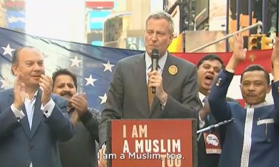 Maire de New York Bill De Blasio