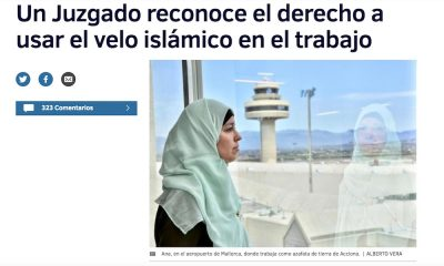 musulmane employée voilée