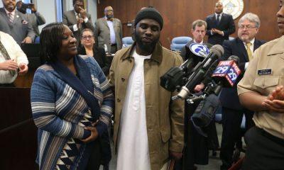 musulman américain Ibn Ali Miller et sa maman