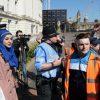 musulmane voilée femme portant un hijab