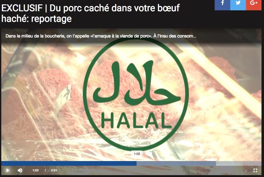 boeuf porc