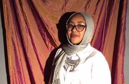 Nabra musulmane de 17 ans