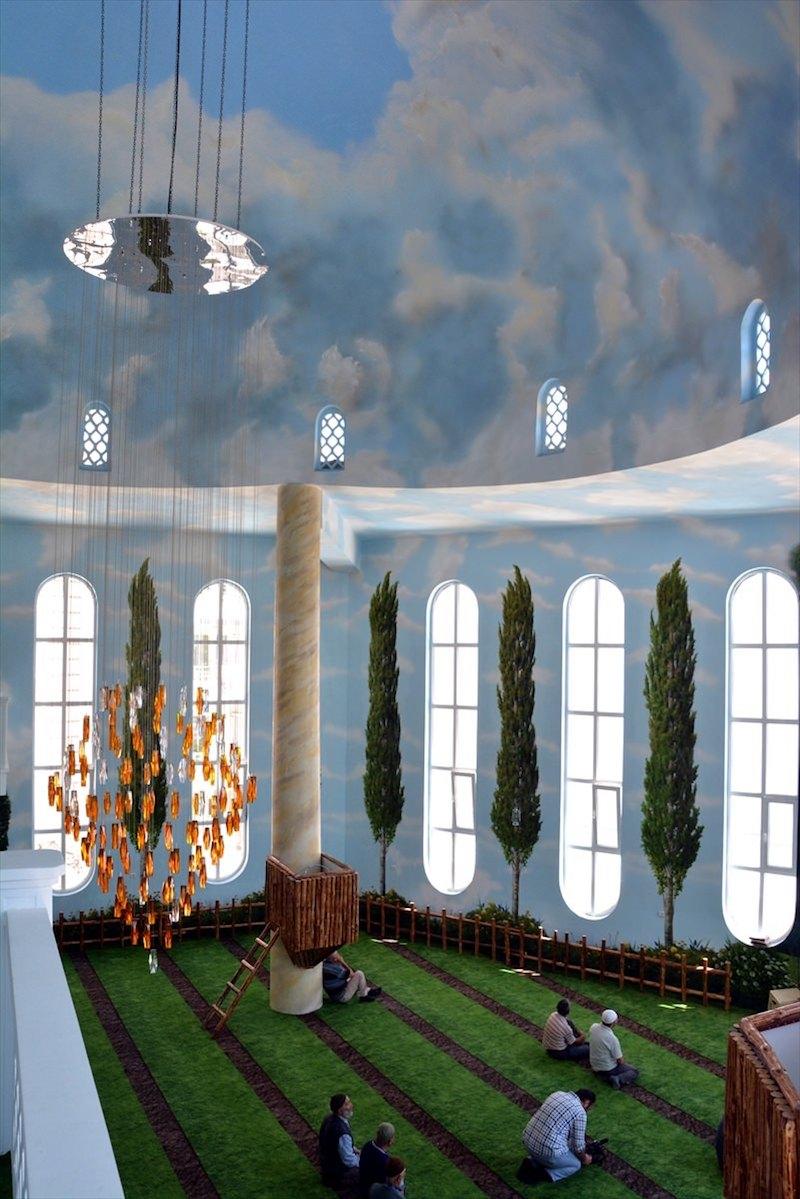 nature mosquée