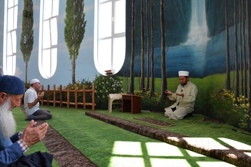 cascade dans masjid