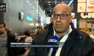 Abdelkader Hakkou, vice-président de l'Université Mohammed Premier, a été placé au centre fermé de Steenokkerzee