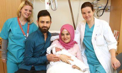 autriche bébé musulman