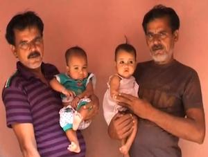 Kondinji village jumeaux inde